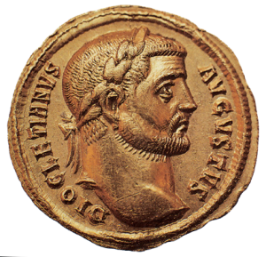 Diocletian-on-coin