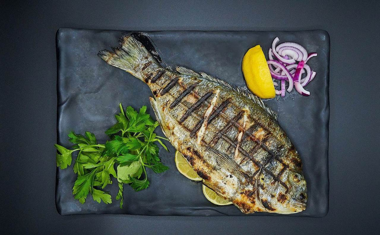 grilled fish food dalmatia